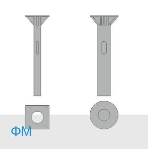 ФМ-0,108-1,5-160 фундамент