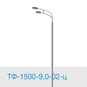 Силовая опора ТФ-1500-9,0-02-ц