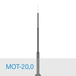МОТ-20,0 стальной молниеотвод