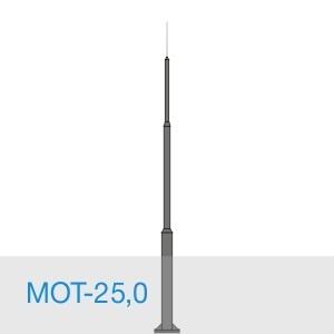 МОТ-25,0 стальной молниеотвод