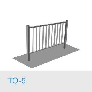 Тротуарное ограждение ТО-5