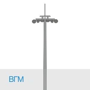 Высокомачтовый молниеотвод ВГМ в [gorod p=6]