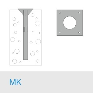 Фундамент МК 1210(1090)+М39×2000/20