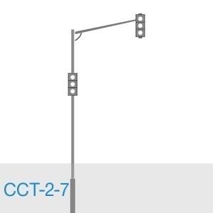 Стойка светофорная трубная ССТ-2-7