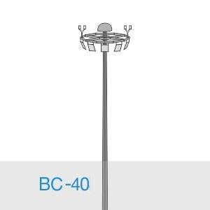 Прожекторная мачта освещения ВС-40-А2/48-II